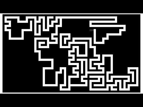 Simple Maze Generator in GFA BASIC 32