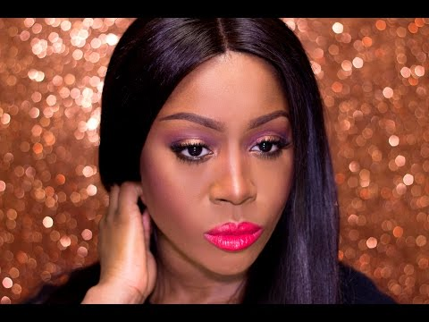 Copper Sparkle Smokey Eye | Grace on your Dash for Defa Cosmetics