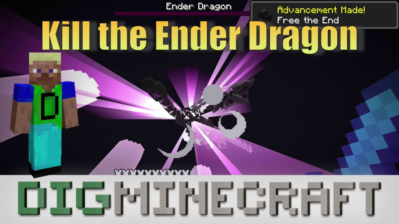 Ender Dragon In Minecraft This is exactly enough to make a full set of armor (crafted normally), and a full set of tools (minus the hoe). ender dragon in minecraft