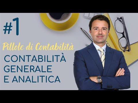 Contabilità Generale e Analitica - Pillole di contabilità n° 1
