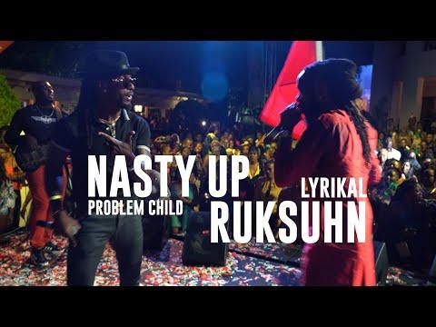 Lyrikal Rukshun and Problem Child Nasty Up pore raising performance   Trinidad Carnival 2020 [4K]