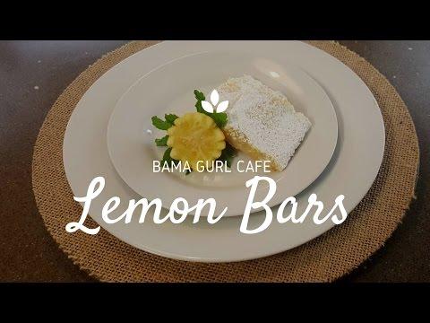 Homemade Lemon Bars
