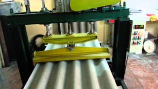 Bending strength testing for non asbestos corrugated roofing sheet : how it is done