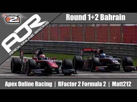 New Beginnings... | AOR RF2 Formula 2 League Round 1+ 2 Bahrain