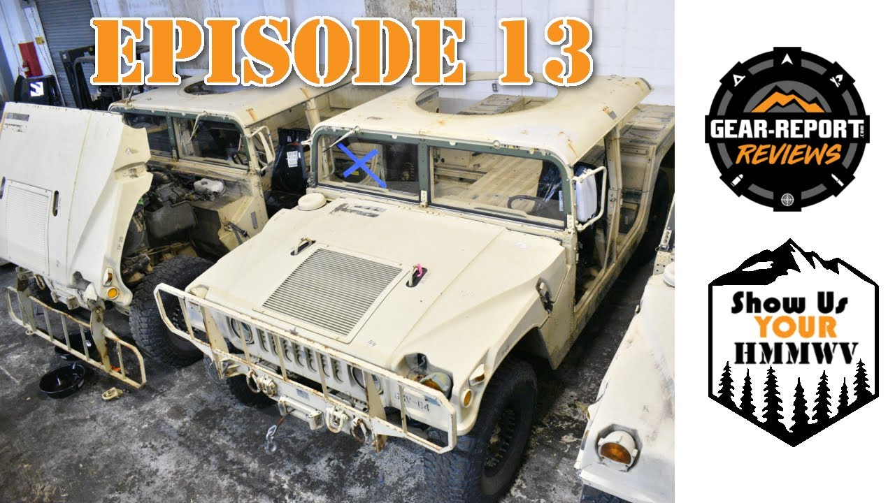 Show Us Your HMMWV! Episode 13 - Humvee Helmet Tops, Safety 3rd, KPJ Military Customs