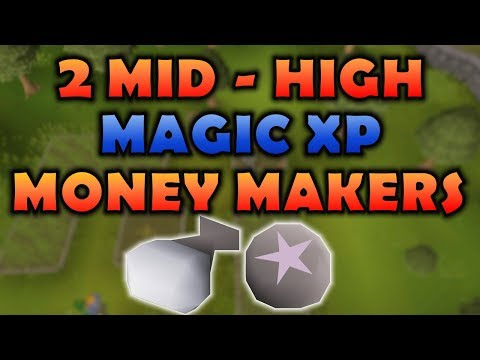 [OSRS] 2 Mid - High Magic XP Money Making Guide | Old School Runescape