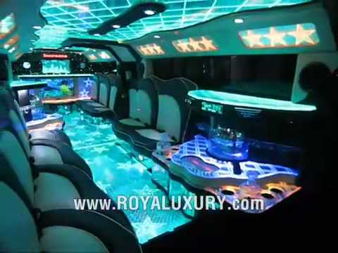 Triple Axle H2 Hummer JET DOOR limo limousine  ROYALUXURY com
