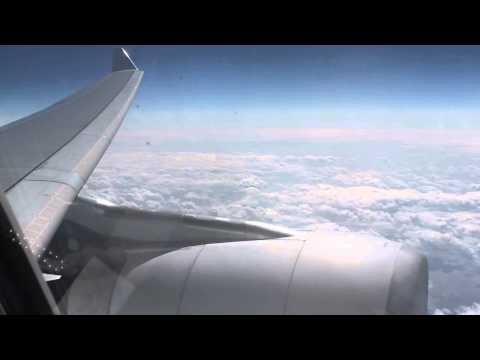Turbulence over the Atlantic Ocean