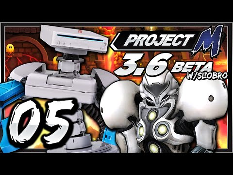 Smash Bros w/SLObro #5 - Project M 3.6 Beta (Analysis, Personal Opinions, New Costumes / Stages)
