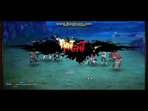 Naruto online-champion of the world (fact) -Best Combo Azure Fang
