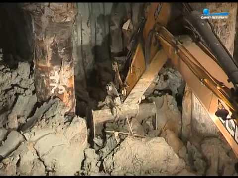 Смотреть Строительство метро «Беговая». Эксклюзив онлайн