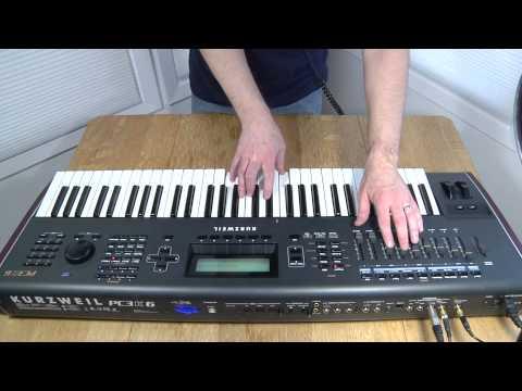 Kurzweil PC3K - Modern Sound Demo