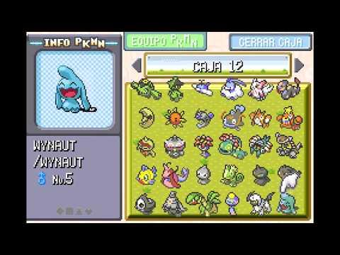 Pokedex Completa Del Todo En Pokemon Rojo Fuego 99% LEGAL!