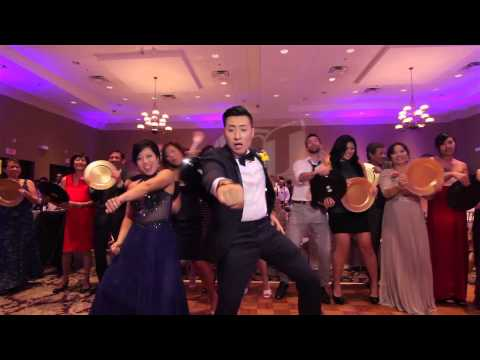 EPIC WEDDING MUSIC VIDEO WITH 250 GUESTS IN ONE TAKE!