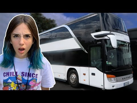 this is my NEW home!! - Giant Bus Tour
