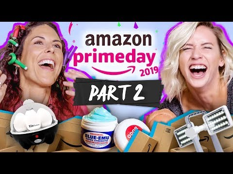 Testing MORE Random Stuff We Bought on Amazon PRIME DAY (part 2)
