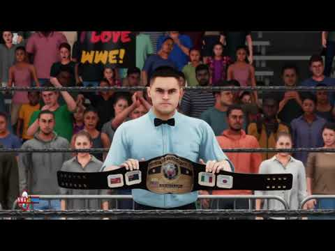 "NWA Worlds Heavyweight Champion Tim Storm Defends Against ""The Cowboy' James Storm (WWE 2K18)"