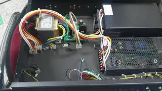 00018-소방 수리-예비전원 고장 금성방재GFS 배터…