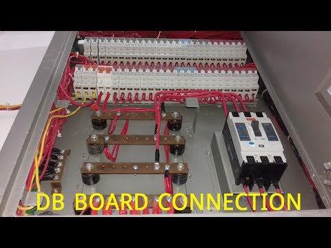 Knowledge about DB Board connection .ডিস্ট্রিবিউশন বোর্ড কানেকশন।