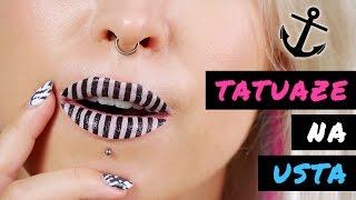 ♦ Tatuaże na usta - test na żywo - 3 wzory ♦ Agnieszka Grzelak Beauty