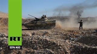 La oposición siria entrega datos sobre las posiciones de los terroristas del EI