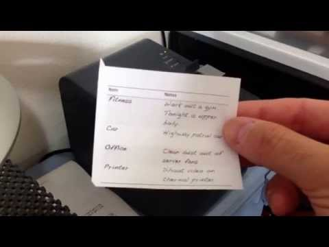 Epson TM-T20ii Thermal Printer Review and Demonstration