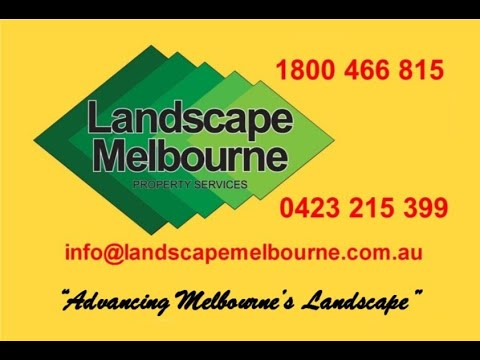 Welcome To Landscape Melbourne Landscaping Services
