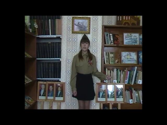 Изображение предпросмотра прочтения – АнастасияСтригова читает произведение «До свидания, мальчики!» Б.Ш.Окуджавы