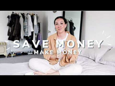 28 Ways to SAVE MONEY (& make money) you have to try!