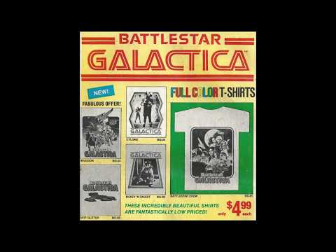 COMIC MAN PRODUCTIONS: BATTLESTAR GALACTICA FULL COLOR T-SHIRTS MARVEL THOR COMIC BOOK AD 1979