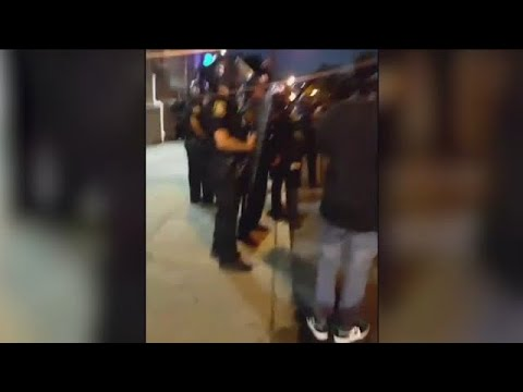 Newark residents stop agitators from rioting amid George Floyd protests