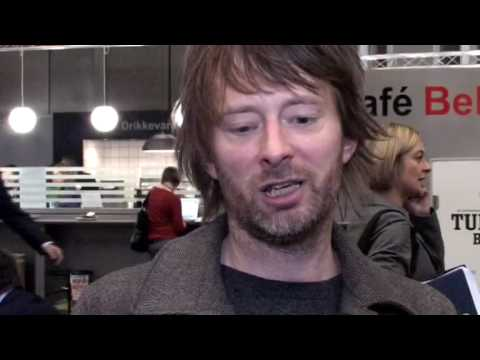 Thom Yorke at the Copenhagen climate change conference