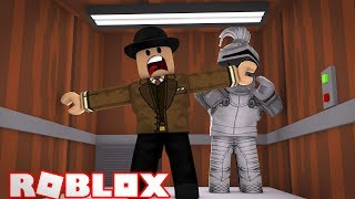 GALLANT GAMING AND CALLUM GET TRAPPED INSIDE A LIFT! Roblox Roleplay!