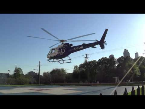 Life Flight Landing Atlanta Medical Center 2016