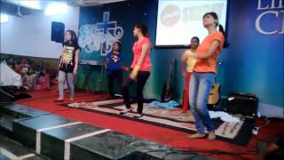 "Dance On A Hindi Gospel Song ""Tere Bina"" (Yeshua) By ABC Sujanpura Youth Girls (HD)"