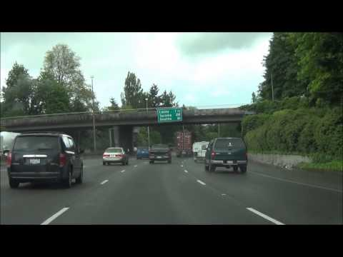 Washington - Interstate 5 North - Mile Marker 100-110 (5/21/13)