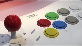 NeoGeo Arcade Stick Pro Unboxing & Test