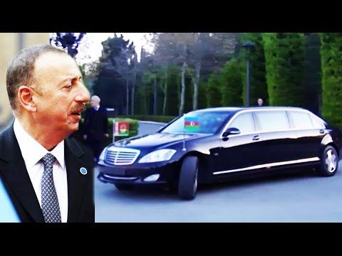 İlham Əliyev Belarus prezidentini belə qarşıladı