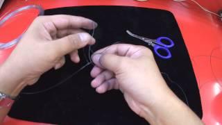 FG結綁法  fishing knot