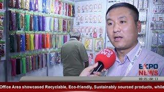 HONGHSIN Industry China | Vinyl Paper Bumper Stickers | Paper World | Expo News Dubai 2020