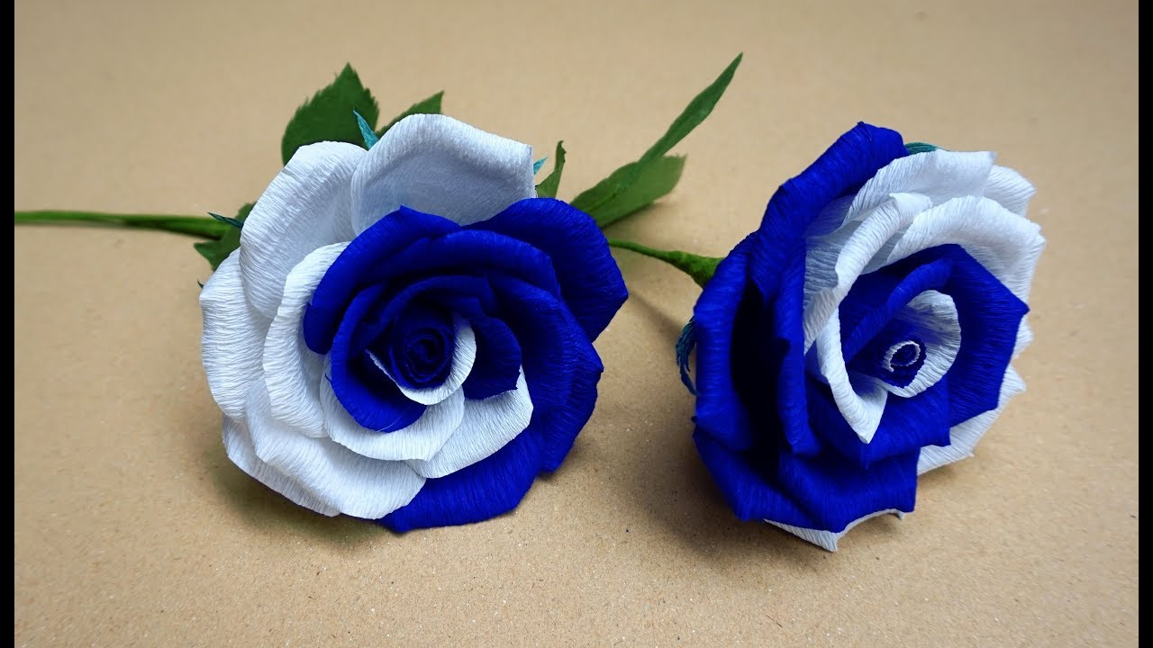 Paper rose flower simple gardening flower and vegetables how to make realistic and easy paper roses very easy and simple mightylinksfo