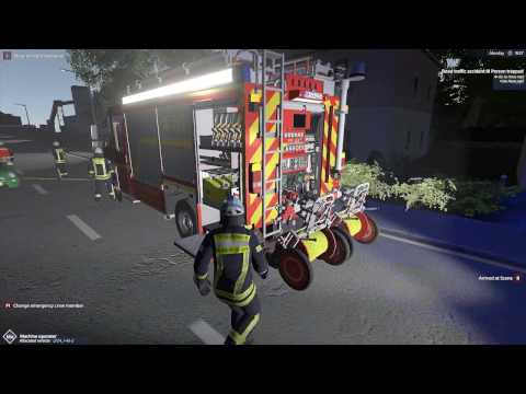 Emergency Call 112 – The Fire Fighting Simulation - Traffic Accident! 4K