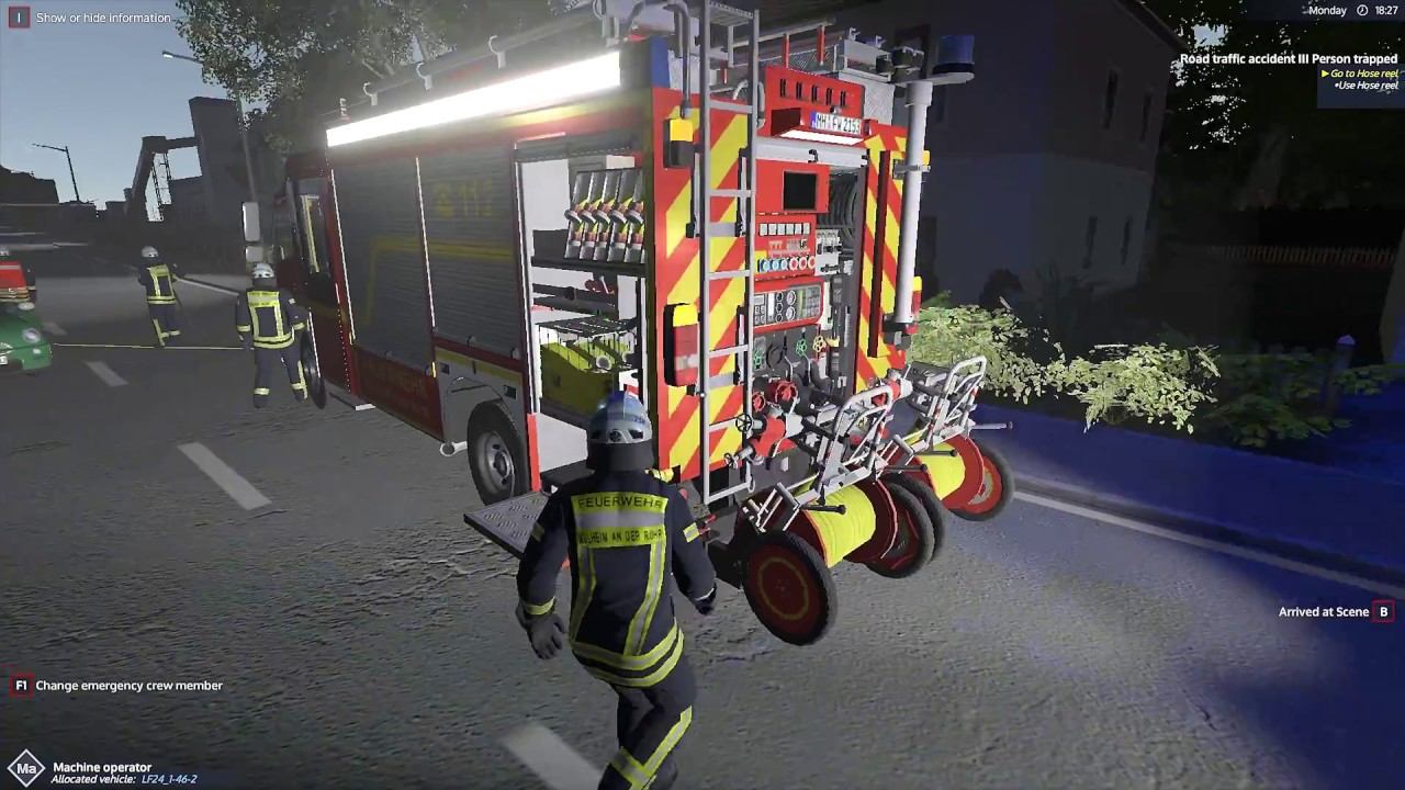 Emergency Call 112 – The Fire Fighting Simulation - Traffic Accident ...