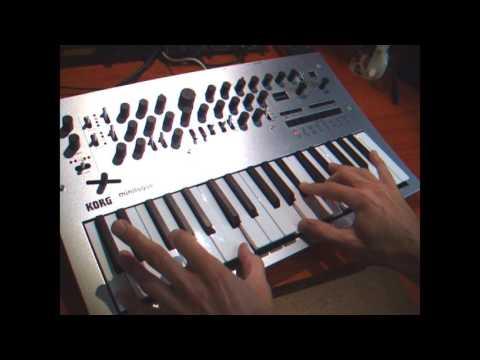 Korg Minilogue analog sounds by Harlem Nights