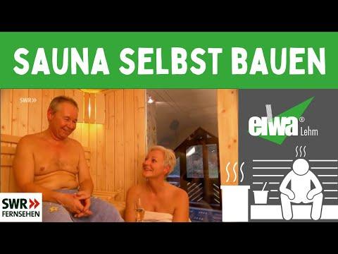 Sauna In Der Dachschrage Sauna Selber Bauen Youtube