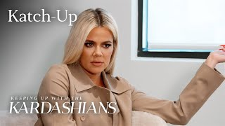 "Khloé Confronts Kris About Her Lie: ""KUWTK"" Katch-Up (S17, Ep 7) 