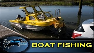 Boat Fishing Tips for Beginners - The Totally Awesome Fishing Show