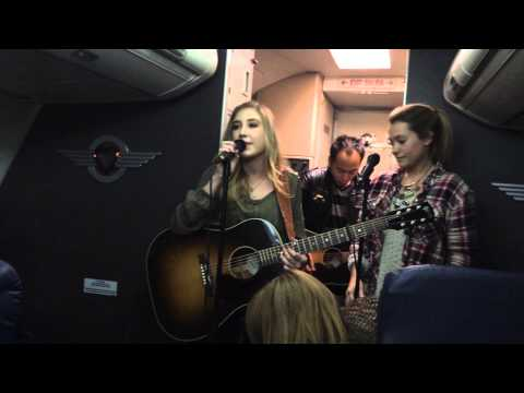 Maddie and Tae FLY at 35,000 feet