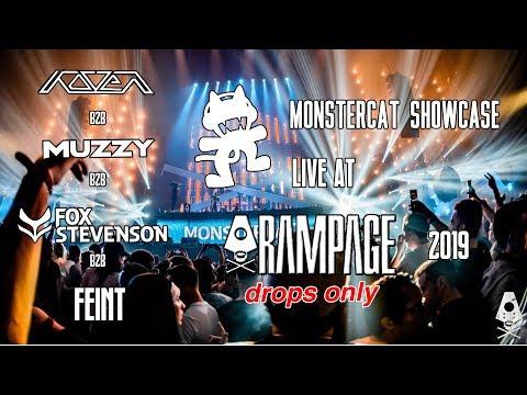 Drops Only // Monstercat Showcase: Koven B2B Muzzy B2B Fox Stevenson B2B Feint | Live @ Rampage 2019