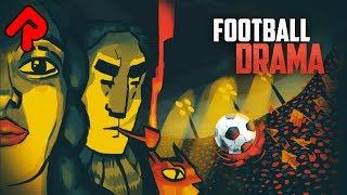 FOOTBALL DRAMA gameplay: Deckbuilding Football Management Sim! (PC game)